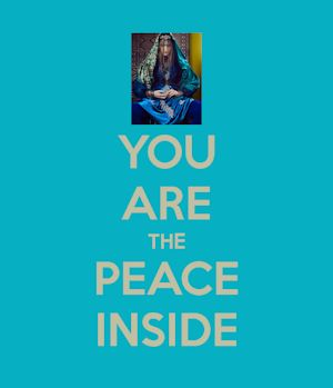 you are the peace